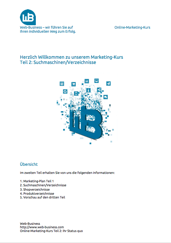Teil 2 Marketing-Plan
